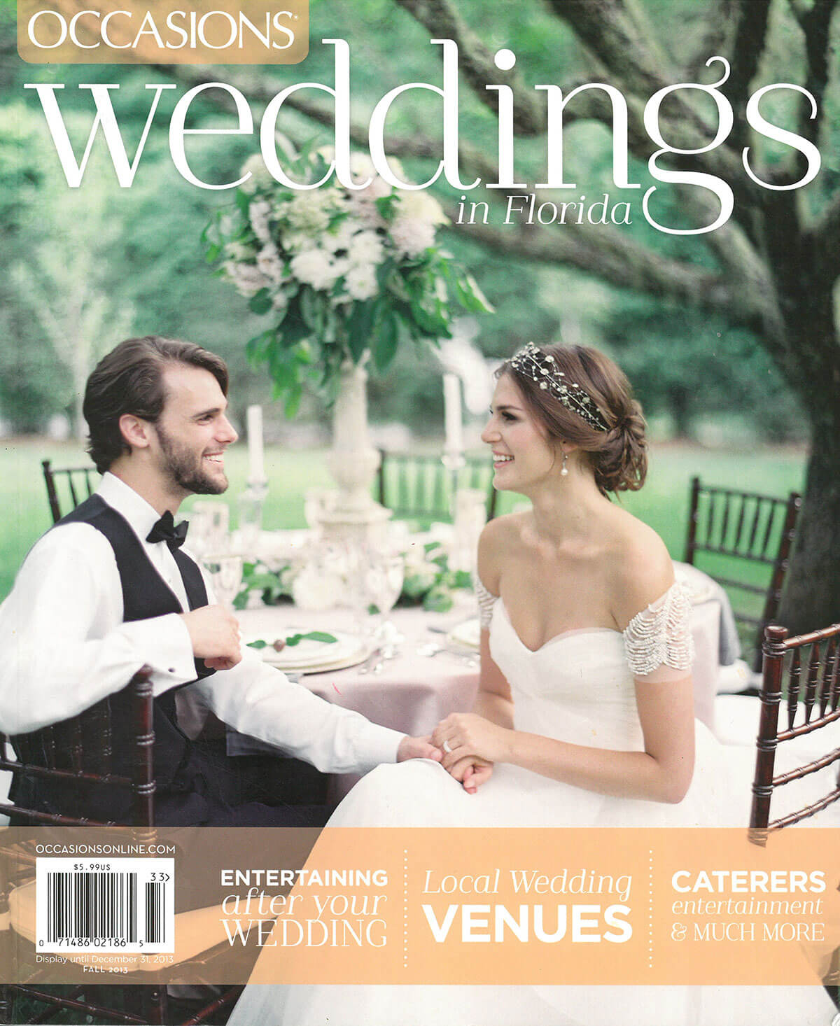 Occasions Weddings in Florida Magazine - Featuring Isn't She Lovely