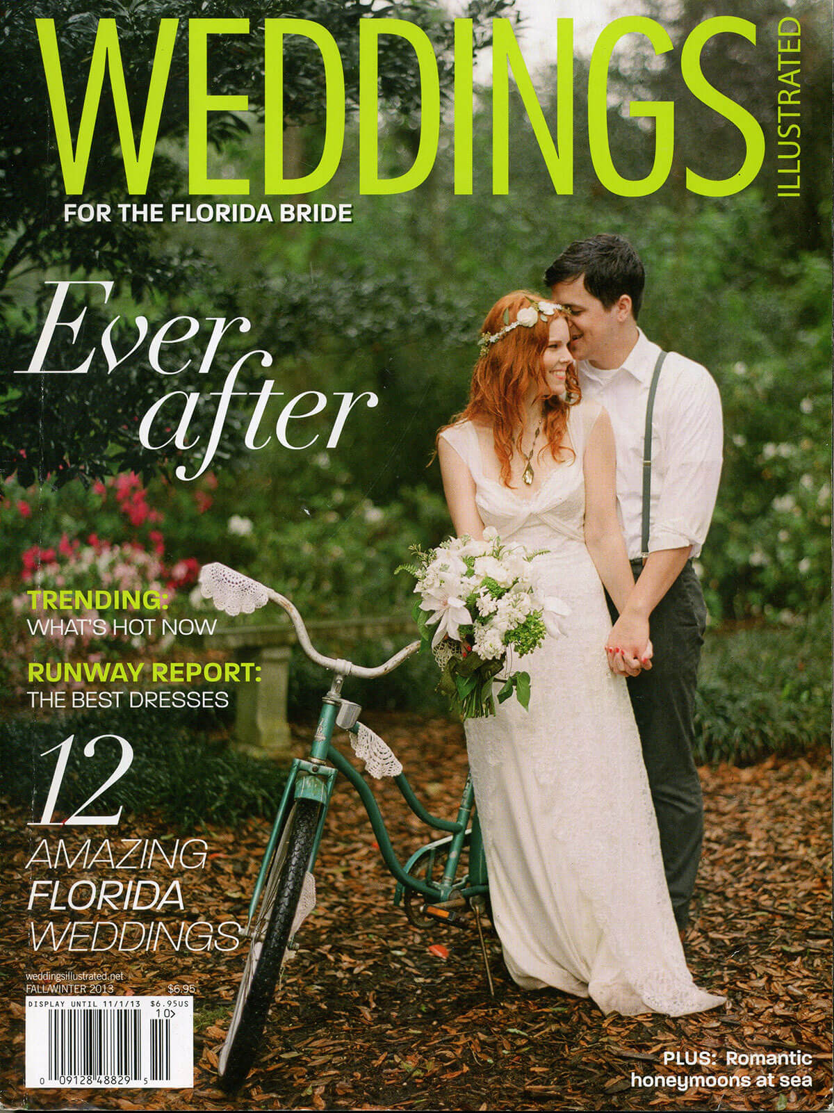 Weddings Illustrated Magazine - Featuring Isn't She Lovely