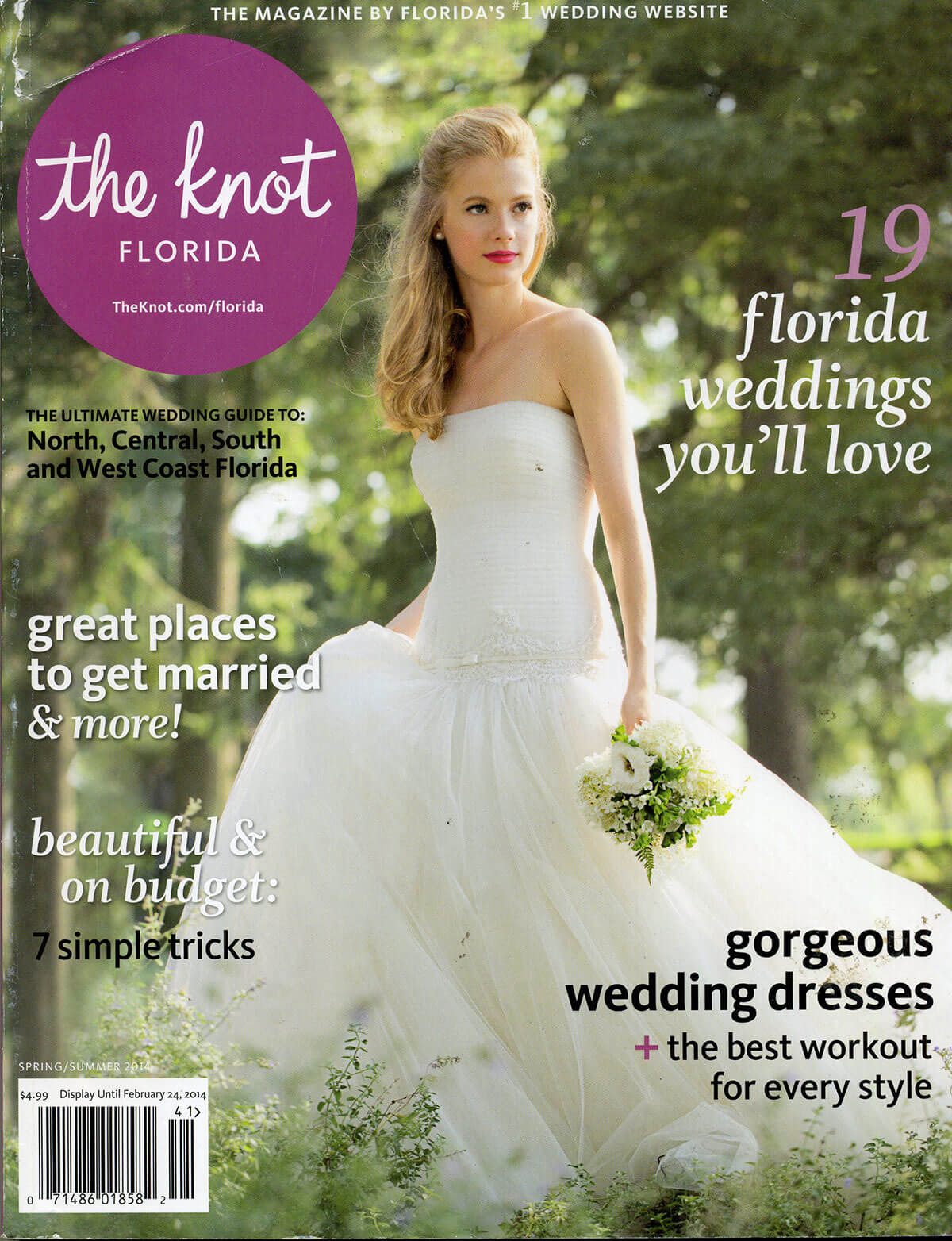 The Knot Magazine - Featuring Isn't She Lovely