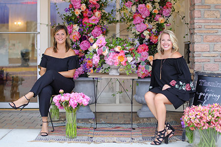 Meet Krissy & Courtney, Floral and Event Designers